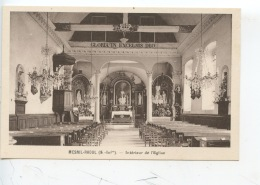 Mesnil Raoul (S. Inf) Intérieur De L'église (ed Caron Neuve) - Autres Communes