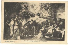 Musée De NANCY La Transfiguration Par P-p Rubens  89 - Paintings