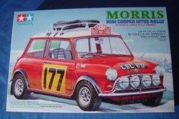 Morris Mini Cooper 1275S Rally 1/24  ( Tamiya ) - Cars
