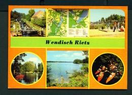 GERMANY  -  Wendlisch Rietz  Multi View  Unused Postcard - Germany