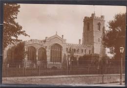 = Carte Postale Angleterre Parish Church Luton -Eglise De La Paroisse De Luton - Destination France 2 Timbres Au Verso - Angleterre