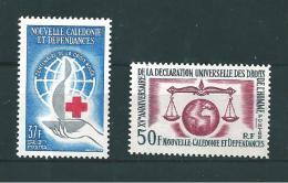 Nouvelle Calédonie  Timbre De 1963  N°312 / 313 Neuf ** - Neufs