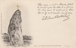 22 - PLOUGUERNEVEL - Un Menhir  Chez Nous On Voit.... Théodore Botrel - Other Municipalities