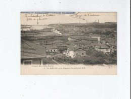 LE BOUCAU 1 PRES BAYONNE VUE GENERALE (TRAIN CIRCULANT) 1934 - Boucau