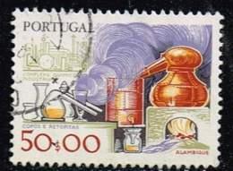 Portugal 1980, Michel# 1479 + 1487 O Chemistry, Famous People - 1910-... Republik