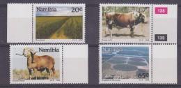 Namibia 1990 Farming 4v (+margin) ** Mnh (30484) - Namibië (1990- ...)