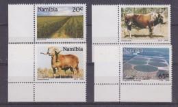 Namibia 1990 Farming 4v (corner) ** Mnh (30484A) - Namibië (1990- ...)