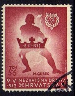 Kroatien (NDH) 1942 Mi 91, Gestempelt [200616XVI] - Croatia