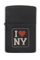ZIPPO - I. NY - Noir - 1997 - Ref, 706 - Zippo