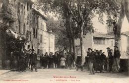11 AUDE - ESPERAZA Une Rue - Francia