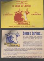 Ferme N°2 (en Carton, à Monter) LA VACHE SERIEUSE Ds L'envel. D´envoi (lons Le Saunier, Jura) COMPLET  (PPP3324) - Autres Collections