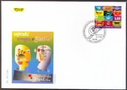 CROATIA - HRVATSKA - ESPERANTO CONGRES - MOUTH - LIPS - FDC - 2001 - Esperanto