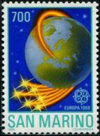 AX0375 San Marino 1988 Europa Earth 1v MNH - Europa-CEPT