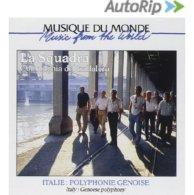 Polyphonie Génoises [CD] La Squadra & Compagnia Del Trallalero … - Musique & Instruments