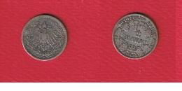 Jg # 16   //  1/2 Mark 1906 A - [ 2] 1871-1918 : Imperio Alemán