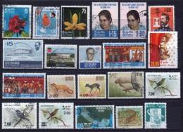 Sri Lanka Interesting Selection Of Fine Used Commemorative Stamps. - Sri Lanka (Ceylon) (1948-...)