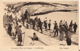 LES SPORTS D´HIVER EN CERDAGNE LA MOLINA SKI - Sports D'hiver