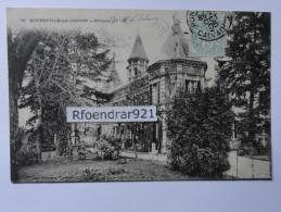 BONNEVILLE LA LOUVET.(Calvados) Le Château (V.clichés Recto-verso) - Autres Communes