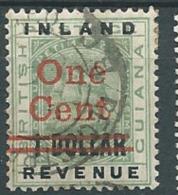 Guyane Anglaise   - Yvert Taxe  N°17 Oblitéré   - Az20926 - Guyane Britannique (...-1966)