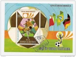 Bloc De Guinée équatoriale: Coupe Du Monde De Football En1974 à Munich - Coppa Del Mondo