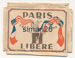 20 PETITES PHOTOS - PARIS LIBERE - SERIE II (GUERRE 39-45) - Lieux