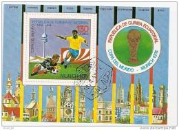 Bloc De Guinée équatorialel: Coupe Du Monde De Football En1974 à Munich - Coppa Del Mondo