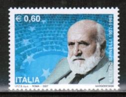 EUROPEAN IDEAS 2007 IT MI 3188 ITALY - Idee Europee
