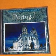 CD 14 Titres : PORTUGAL (Cinda Castel-Machado-Manuela-José Rodriguez-Amorim) Musiques Autour Du Monde. 1993 - Musiques Du Monde