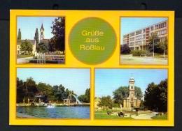 GERMANY  -  Rosslau  Multi View  Unused Postcard - Rosslau