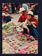 PERU  -  Cusco  Sunday Market In Pisaq  Unused Postcard - Peru