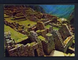 PERU  -  Cusco  Macchu Picchu  Unused Postcard - Peru