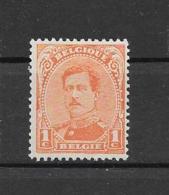 België 1915 Y&T Nr° 135 ** - 1915-1920 Albert I