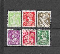 België 1932 Y&T Nr° 335/340 ** - Unused Stamps