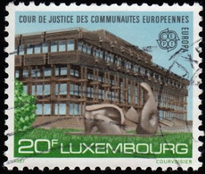 LUXENBOURG - Scott #770 Court Of Justice / Used Stamp - Luxembourg