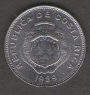 COSTA RICA 1 COLON 1989 - Costa Rica