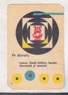 Romanian Old 1967 Small Calendar - Electrecord - Music - Calendriers