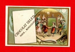 Chocolat Ibled, Jolie Chromo, Signes Du Zodiaque, Horoscope, Le Bélier, Le Taureau - Ibled