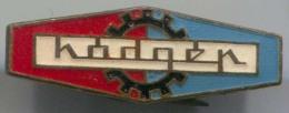 HODQER - Enamel, Vintage Pin, Badge - Merken