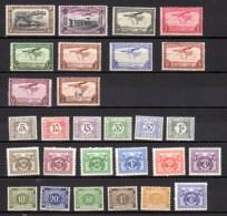 Poste Aérienne + Taxe  ** Et *, Entre PA 5 Et PA 17 + Entre TX 66 Et TX 84, Cote 38 €, - Posta Aerea: Nuovi
