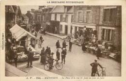 22 - Cote D´ARMOR - Matignon - Place - Rue Saint Jean - Foire - Otros Municipios