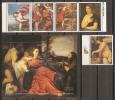 PINTURA - PARAGUAY 1989 - Yvert #2400/04+H - MNH ** - Arte