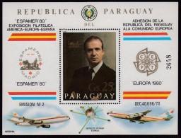 REALEZA - PARAGUAY 1991 - Michel #H356 - MNH ** - Familias Reales