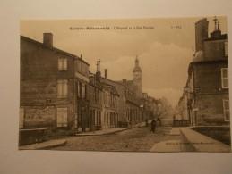 Carte Postale - Ste MENEHOULD (51) - L'Hôpital Et La Rue Florion (31A) - Sainte-Menehould