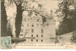 LES TROIS MOUTIERS (Vienne) - Château De La Motte-Chandenier , Côté Nord - Les Trois Moutiers