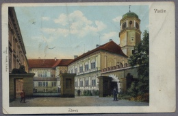 VLASIM    ZAMEK   About   1910y.       C707 - Repubblica Ceca