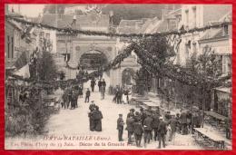 27 IVRY LA BATAILLE - Les Fetes D´Ivry Du 13 Juin  - Décor De La Grande Rue - TBE - R/V - Ivry-la-Bataille