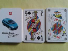 CITROEN Xsara Picasso. Jeu Trés Bon état Dans Sa Boite Carton Avec Ses Jokers - Cartes à Jouer Classiques