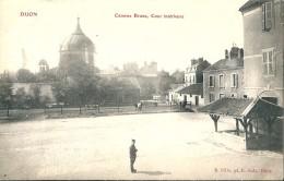 DIJON   ( 21 )   La  Caszene  Brune,  Cour  Intérieure. Place  Auguste - Dubois. Port  Du  Canal  Et  L'Ile         $ - Dijon