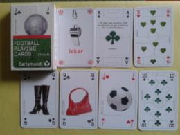 FOOTBALL. Jeu De 52 Cartes Avec Joker Sur Le Foot Et Les Phases De Jeux Sur Les Cartes - Cartes à Jouer Classiques