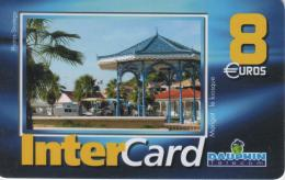 ANTILLES FRANCAISES-INTERCARD DAUPHIN TELECOM 8€-LE KIOSQUE-3000EX - Antilles (French)